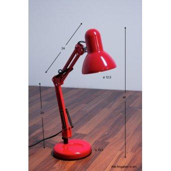 Globo Famous desk light red, 1-light source