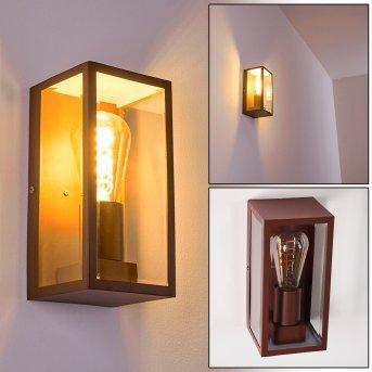 Hakkas Outdoor Wall Light brown, 1-light source