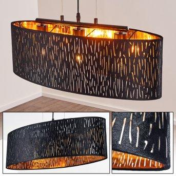 Liared Pendant Light black, 3-light sources