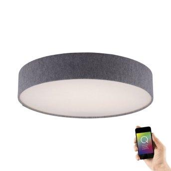 Paul Neuhaus Q-KIARA Ceiling light LED grey, 1-light source, Remote control