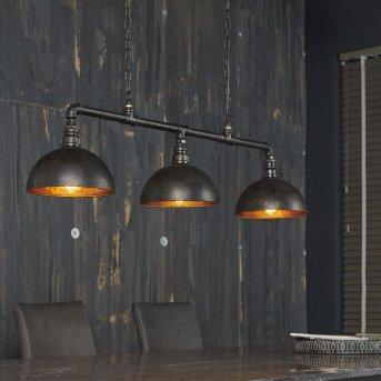 GROENEKAN Pendant Light black, 3-light sources
