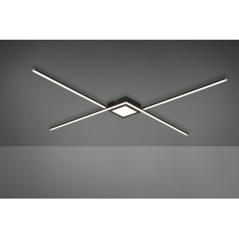 Trio OXFORD Ceiling Light LED anthracite, 1-light source
