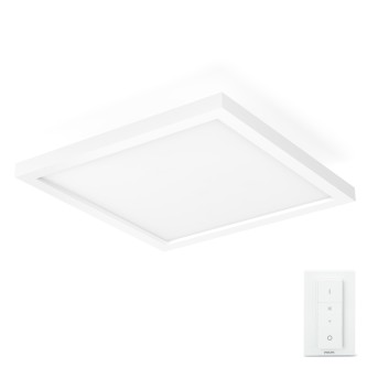 Philips HUE AMBIANCE WHITE AURELLE Panel light LED white, 1-light source, Remote control