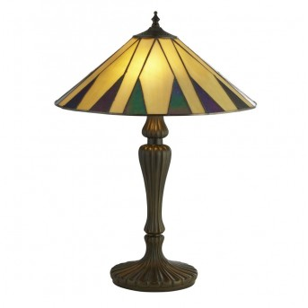 Table Lamp Searchlight CHARLESTON bronze, 2-light sources