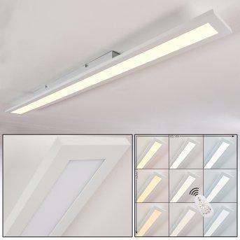Ailik Ceiling Light LED white, 1-light source, Remote control