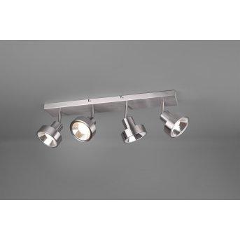 Trio LEON Spotlight LED matt nickel, 4-light sources