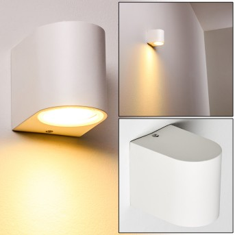 Outdoor Wall Light Nordborg LED white, 1-light source