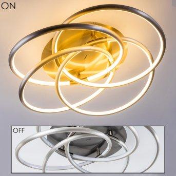 MANNING Ceiling Light LED matt nickel, 1-light source