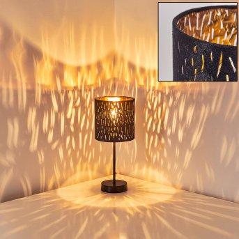 Liared Table Lamp black, 1-light source