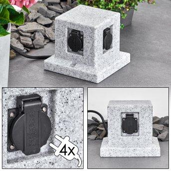 MALABO outdoor socket stone appearance