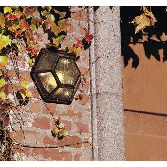 Konstsmide Castor wall and ceiling light copper, 1-light source