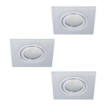 Eglo AREITIO recessed light LED aluminium, 3-light sources
