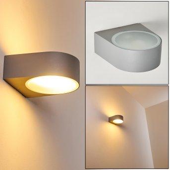 HADERSLEV Outdoor Wall Light grey, 1-light source