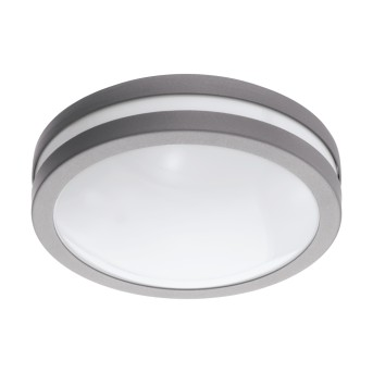 Eglo Connect LOCANA Ceiling light LED silver, 1-light source