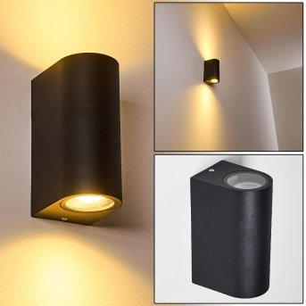 Outdoor Wall Light Nordborg LED black, 2-light sources