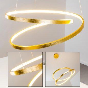 Stalon Pendant Light LED gold, 1-light source