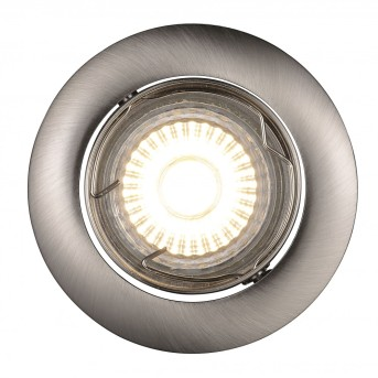 Nordlux RECESS recessed light LED stainless steel, 1-light source