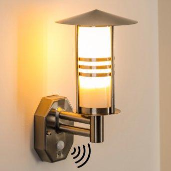 Forli Outdoor Wall Light stainless steel, 1-light source, Motion sensor