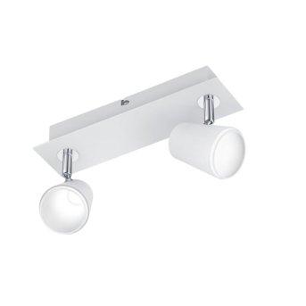 Trio NARCOS spotlight LED white, 2-light sources