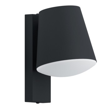 Eglo Connect CALDIERO Outdoor Wall Light LED anthracite, 1-light source