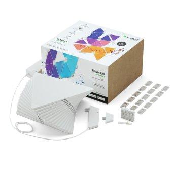 Nanoleaf Aurora Rhythm Smarter Kit - 15 Pack LED white, 1-light source, Remote control, Colour changer