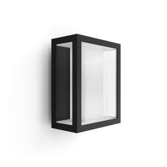 Philips HUE AMBIANCE WHITE & COLOR IMPRESS Wall Light LED black, 1-light source, Colour changer