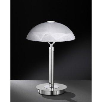 Wofi BRISTOL Table Lamp matt nickel, 2-light sources