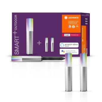 LEDVANCE SMART+ Pedestal light, extension set grey, 3-light sources