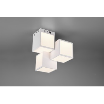 Trio OSCAR Ceiling Light LED white, 1-light source, Remote control, Colour changer