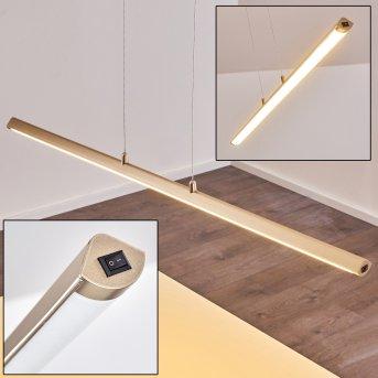 Wila Pendant Light LED matt nickel, 1-light source