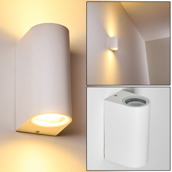 Outdoor Wall Light Nordborg LED white, 2-light sources