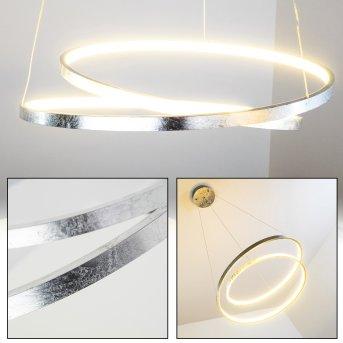 Stalon Pendant Light LED silver, 1-light source