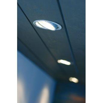 Nordlux TIP recessed light galvanized, 1-light source