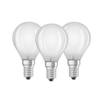 Osram LED E14 4,5 Watt 2700 Kelvin 470 Lumen Set of 3