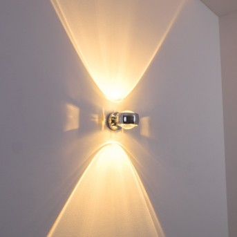 Sapri Wall Light chrome chrome, 1-light source