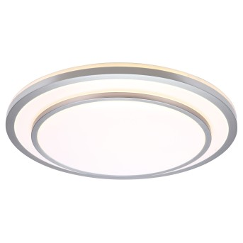 Brilliant LUCIANO Wall and Ceiling Light LED aluminium, 1-light source