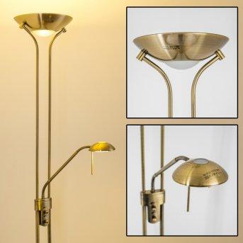 Rom uplighter LED antique brass, 2-light sources