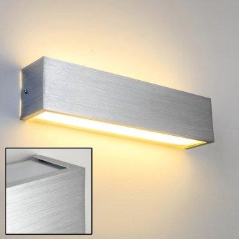 Olbia wall light LED aluminium, 1-light source
