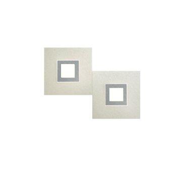Grossmann KARREE Wall Light LED titanium , 2-light sources