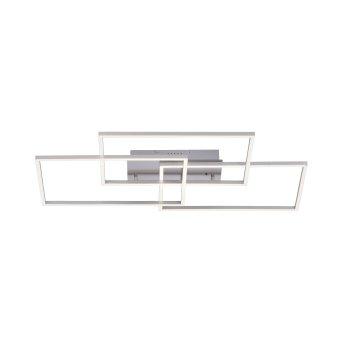 Leuchten-Direkt IVEN Ceiling Light LED matt nickel, 3-light sources, Remote control