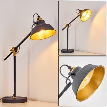Luven Table Lamp black, 1-light source, Remote control