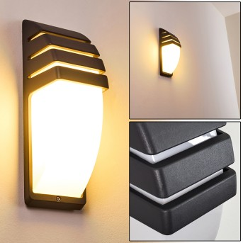 Outdoor Wall Light Canberra anthracite, 1-light source