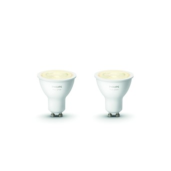 Philips HUE Set of 3 White GU10 5,2 Watt 2700 Kelvin 400 Lumen