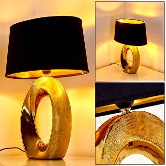 Rovio Table Lamp gold, 1-light source