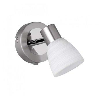 Trio CARICO wall spotlight LED matt nickel, 1-light source