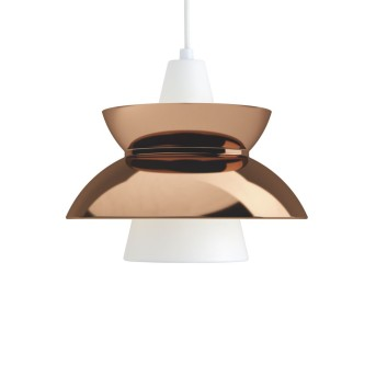 Louis Poulsen DOO-WOP Pendant Light copper, 1-light source