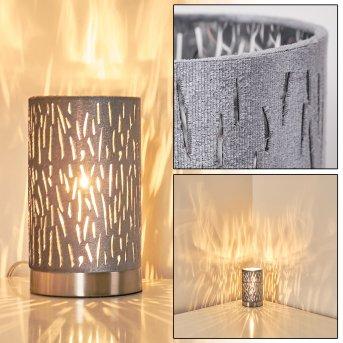 Liared Table Lamp grey, 1-light source