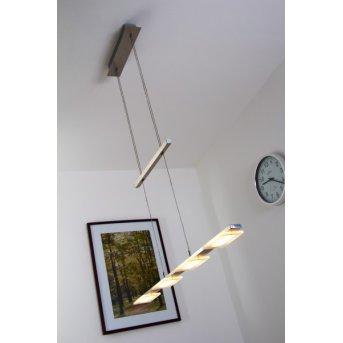 Wofi VERSO pendant light LED matt nickel, 4-light sources