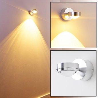 Harare wall light LED aluminium, 1-light source