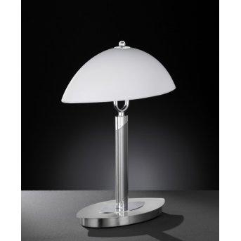 Wofi NEWTON Table Lamp matt nickel, 2-light sources